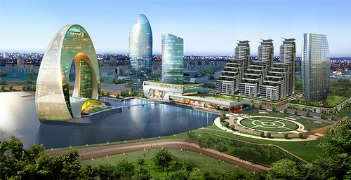 Old Charm Meets The Future In Baku Azerbaijan CruiseGourmet - Where is baku
