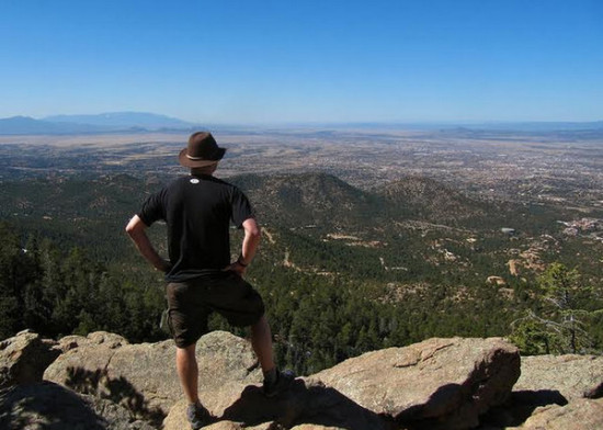 Altitude Of Santa Fe Nm >> Conquering Atalaya Mountain in Santa Fe New Mexico ...