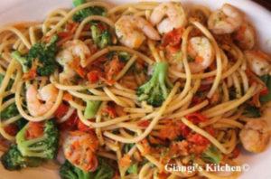 Shrimp and Pasta Surprise