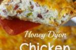 Honey Dijon Chicken Salad Pie