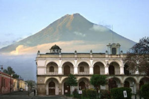 Antigua mountains