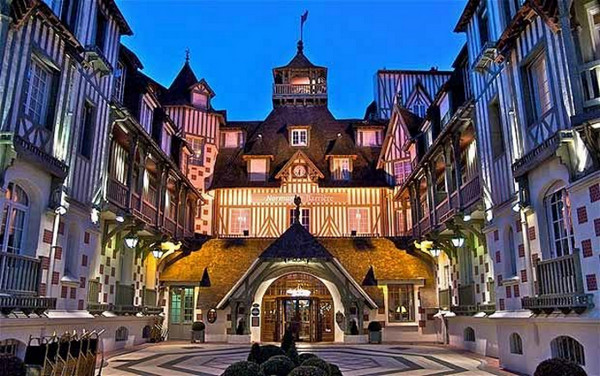Deauville france for Boutique hotel normandie