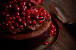 Eva's Chocolate Cake with Ground Walnuts and Cherries