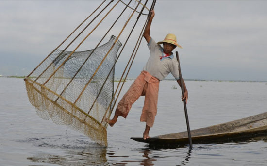 Inle Lake - fisherman