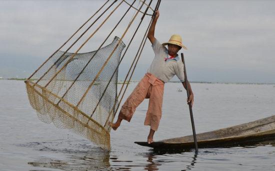 Inle Lake - fisherman