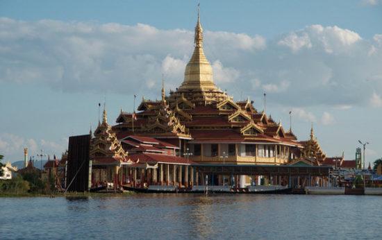 Inle Lake - temple