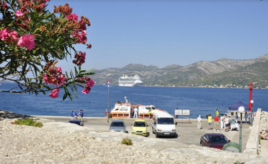 Korcula-Croatia port