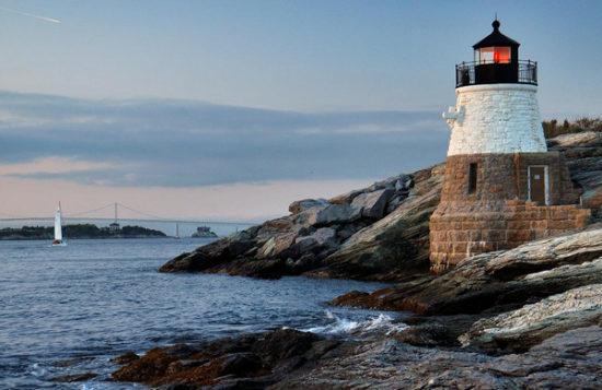 Newport, Rhode Island lighthouse
