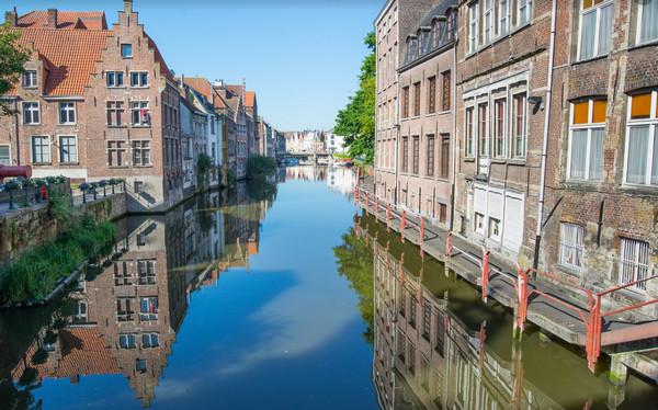 Ghent, Belgium canal