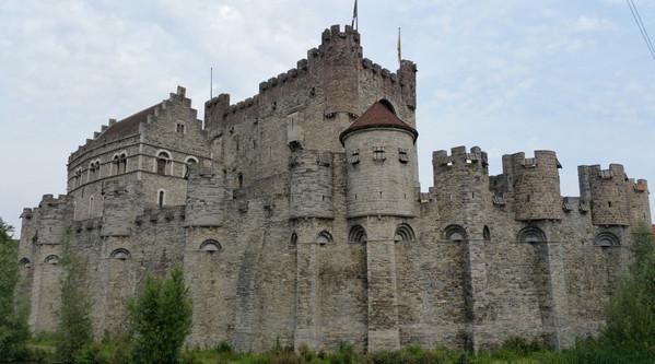 Ghent, Belgium castle