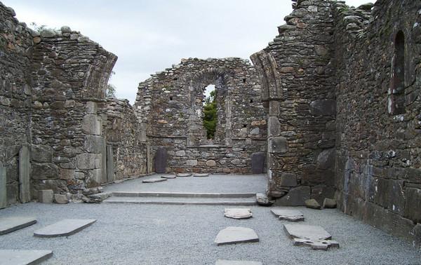 Glendalough, Ireland ruins
