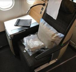 Swiss Airbuss seat