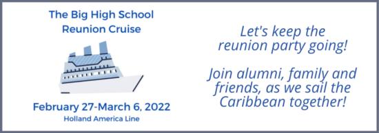 Big High School Reunion Cruise